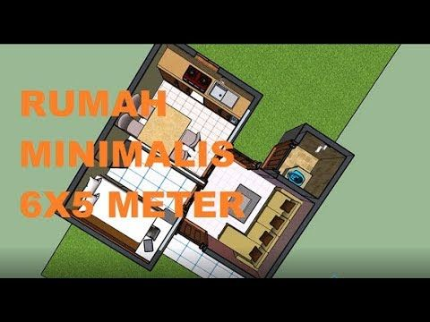 gambar desain rumah minimalis 6x6 - rumah desain