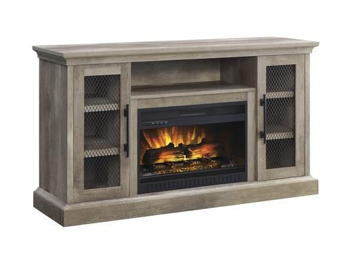 Whalen 60 Millstead Electric Fireplace Entertainment Center In