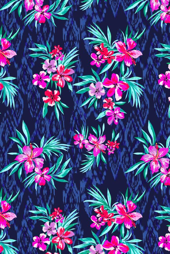Marisa Hopkins   Tropical  print used on a range of playsuits, dresses and swimwear for Very Spring/Summer 2014   www.very.co.uk