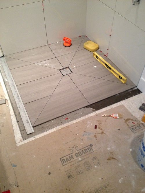 Pitch Tile Shower Floor Google Search With Images Shower Floor Shower Floor Tile Large Shower Tile