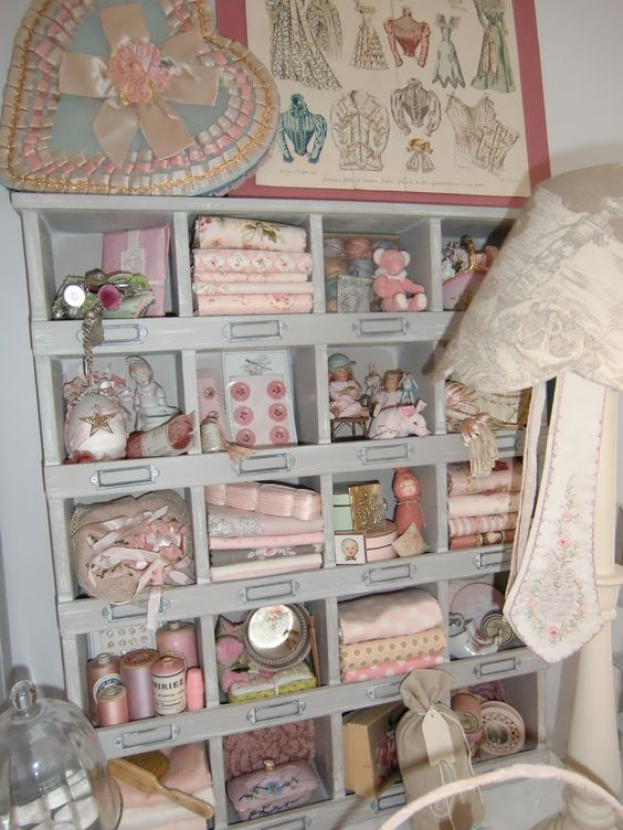 Best ideas about storage cubbies organization storage and - Shabby chic storage ideas ...