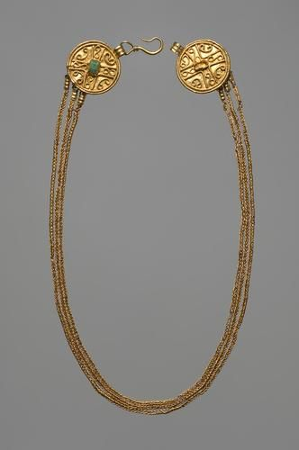 Necklace, German, 4th century.: