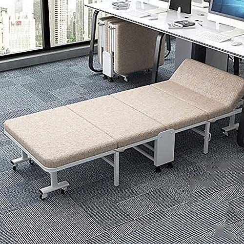 Mfuton Stable Folding Guest Bed Single Accompanying Bed Comfort