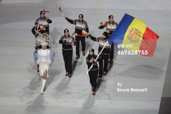Andorra opening ceremony outfits