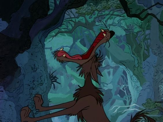 *WOLF ~ Sword in the Stone, 1963