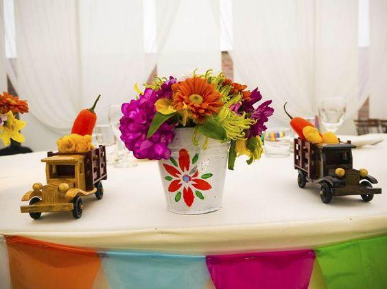 Una decoración de boda al puro estilo andino Image: 3