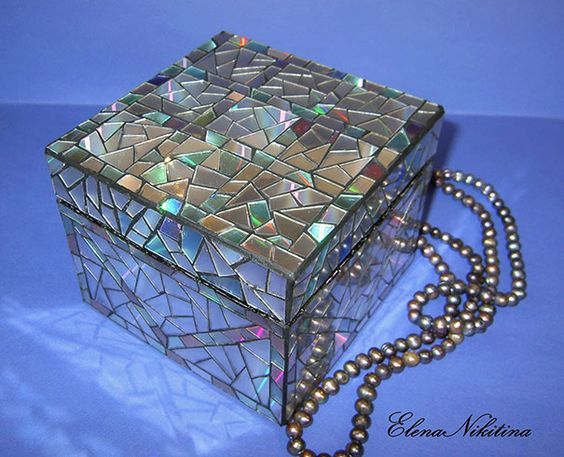 Mosaic Jewelry Box: