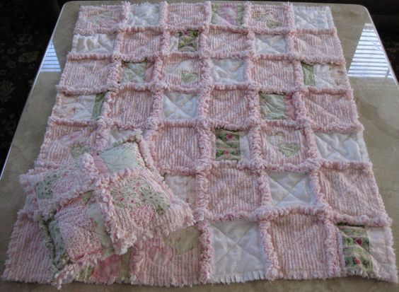 Rag quilt, Quilt kits and Quilt on Pinterest