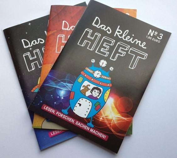 *Das kleine Heft* ist ein Magazin für Kinder von 5 bis 10 Jahren.  Jede Ausgabe bietet eine Erstlesergeschichte, faszinierende Berichte, spannende Experimente und und und!  LESEN, FORSCHEN, SACHEN MACHEN!