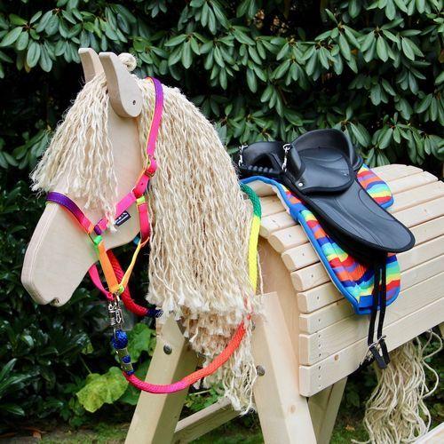 Holzpferd Princess Komplett Set Rainbow Holzpferd Holzpferd Selber Machen Pferdemahne
