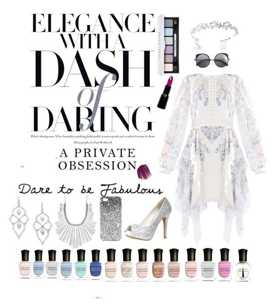 """""""Elegantly daring"""" by melliflusous ❤ liked on Polyvore featuring BCBGMAXAZRIA, Stephen Webster, Lucky Brand, ALDO, Topshop, Wood Wood, Bling Jewelry, Bobbi Brown Cosmetics, Smashbox and Giorgio Armani"""