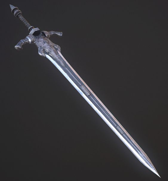 Greatsword of Knight Artorias. Wanted to dip my toes in ...