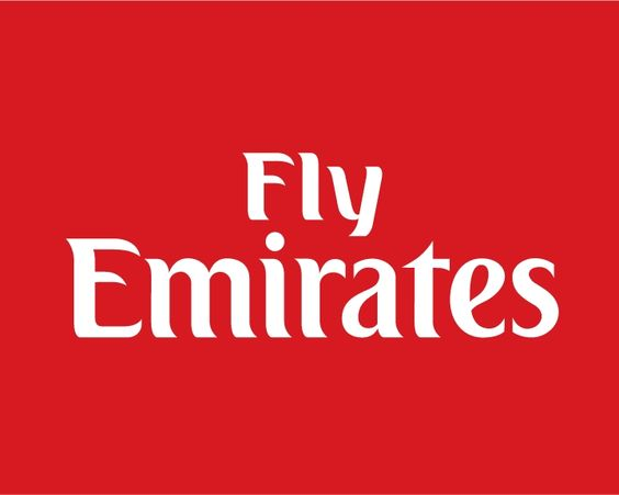 emirates airlines logo | fig 1 : fly Emirates logo ...