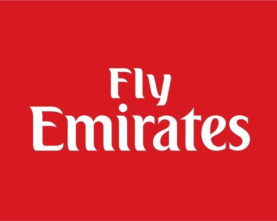 emirates airlines logo | fig 1 : fly Emirates logo ...