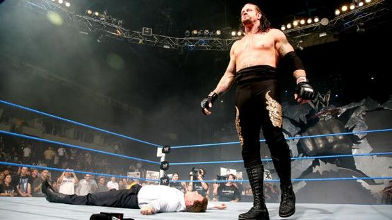 WWE.com: Unseen Undertaker: photos  The old SD set(with the punch)  The Deadman  JBL  good old days