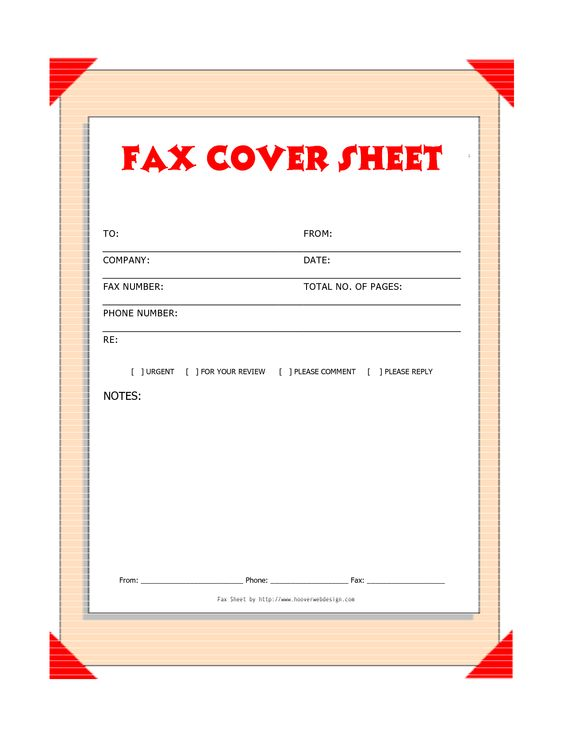 Fax Cover Page Free fax cover sheet (Professional design - free fax cover letters