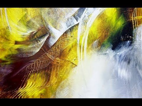 15 Min Abstract Malen 4 Farben Fur Anfanger Abstract Painting 4