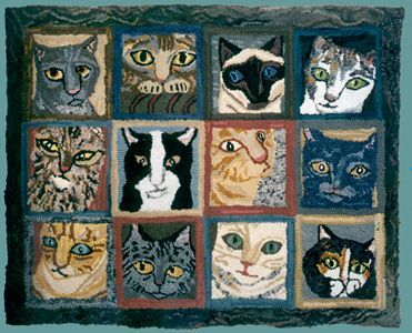 12 Cats by Louisa Creed