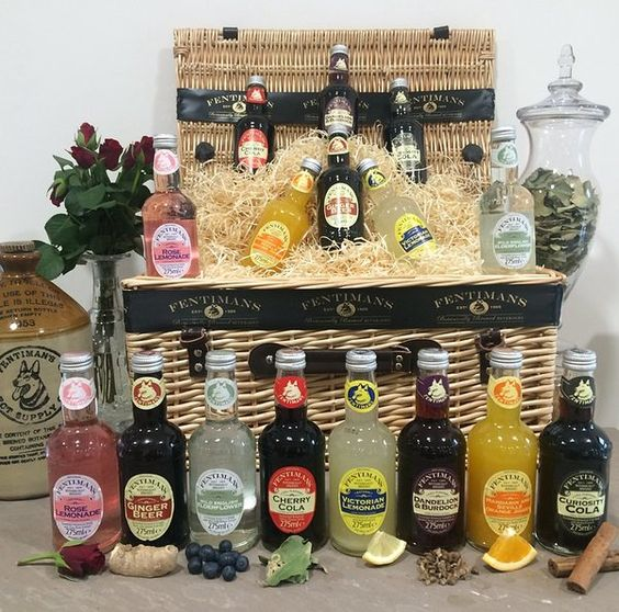 The collection of Fentimans flavours