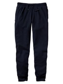 Lived-in fleece pants