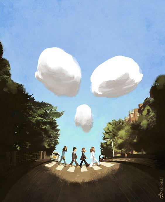 Abbey Road Skull - abbey death