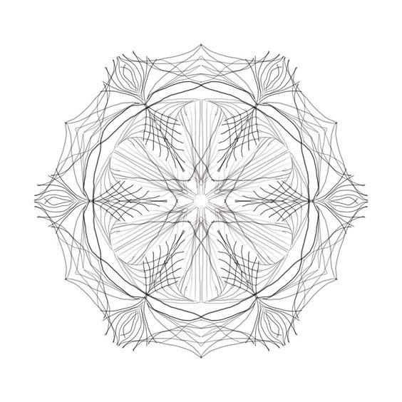 Zart wie ein Kristall, gezeichnet auf dem Tablet, www.zeichenwerkstatt-cw.de