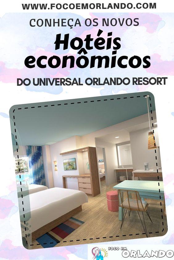 Pinterest - Hotéis Econômicos do Universal Orlando Resort