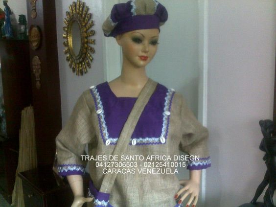trajes de santo   trajes de santo africa disegn . religion yoruba, canastilla etc ...
