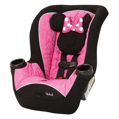Disney APT Convertible CAR SEAT, Deluxe Disney BABY CAR SEAT, Mouseketeer Minnie