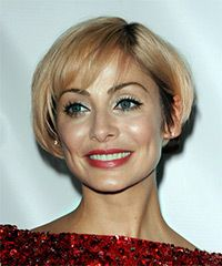 Natalie Imbruglia Hairstyle: Casual Short Straight Hairstyle