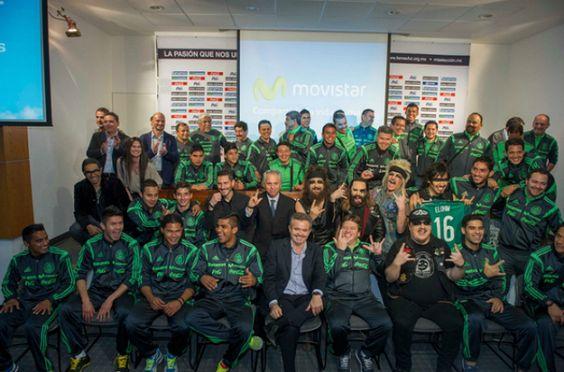 La Selección Mexicana de Fútbol se pone RockStar !!! #Trirockero
