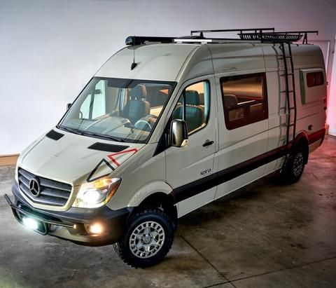 Mercedes Sprinter 144 Wb Campervan Body Flares With Window Cutouts