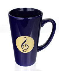 Kaffeebecher Violinschlüssel ♫♪ ☕ www.musiker-geschenke.com/Tassen