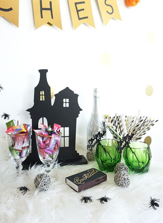 Creative Candy Themed Halloween Party Ideas - Inspired by This