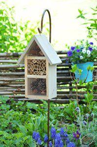 Petit Hôtel insectes Combi Avec ips11avec crochet de Berger étage Support HD de MMS Jaune Jaune soleil Maisons d'oiseaux nichoir Hôtel à…