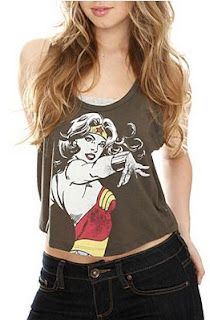 Need a wonder woman shirt from hot topic