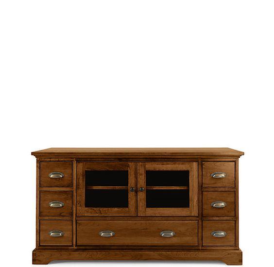 ^ estoration Hardware - Marston herry Media entre Furniture ...