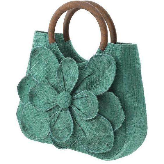 Mar Y Sol Guadeloupe Tote Handbag found on Polyvore