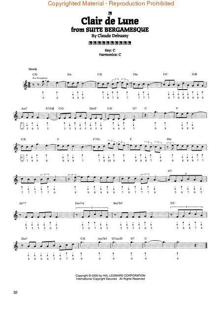Harmonica u00bb Harmonica Tabs Childrens Songs - Music Sheets, Tablature, Chords and Lyrics