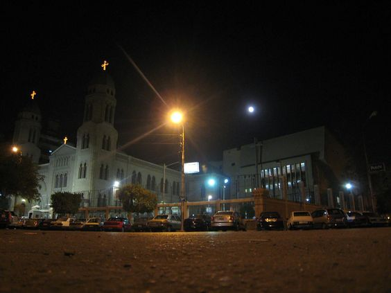 St-Markos Church in Heliopolis, Cairo, Egypt in 2 Articles about the coptic Churches in Egypt - 26 January 2007   Wikipedia
