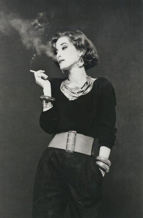 Loulou de la Falaise, the iconic muse and collaboratrice of Yves Saint Laurent