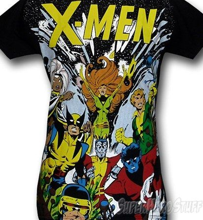 X-Men tee, I want this now.
