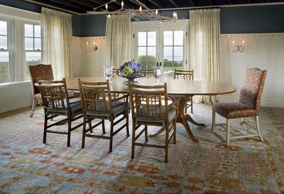Antique Oushak rugs lend old-world charm and heritage to wherever they are found.