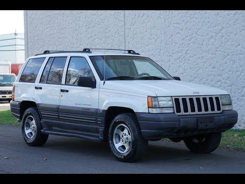 1996 Jeep Grand Cherokee Laredo 5 2l V8 4wd White 4k Slideshow In 2020 Jeep Grand Cherokee Laredo Jeep Grand Jeep Grand Cherokee