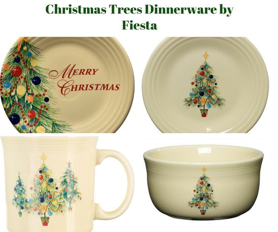 Christmas Trees Dinnerware Collection by Fiesta