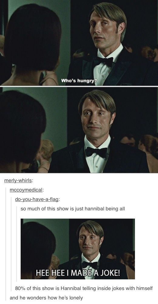 Hannibal /  Oh, #Tumblr... I might need to start watching