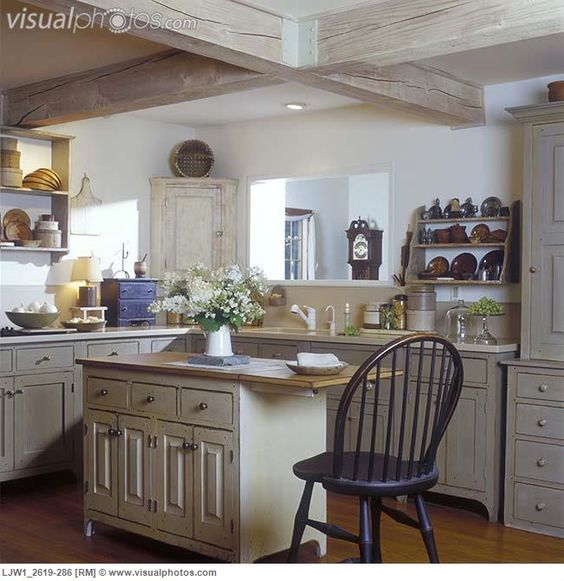 Early American Style I Love This Kitchen Kitchen
