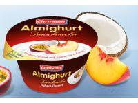 Almighurt Feinschmecker Joghurt Weißer Pfirsich mit Maracuja