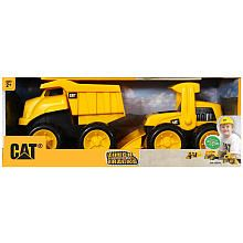 Beach toys!!! Easter present.  CAT Tough Tracks 2-Pack - Dump Truck and Wheel Loader