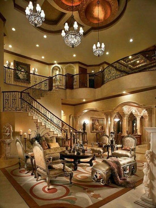 Luxury Living Glamorous Royal Luxury Living Room Roskoshnye Doma Krasivye Doma Dizajn Doma
